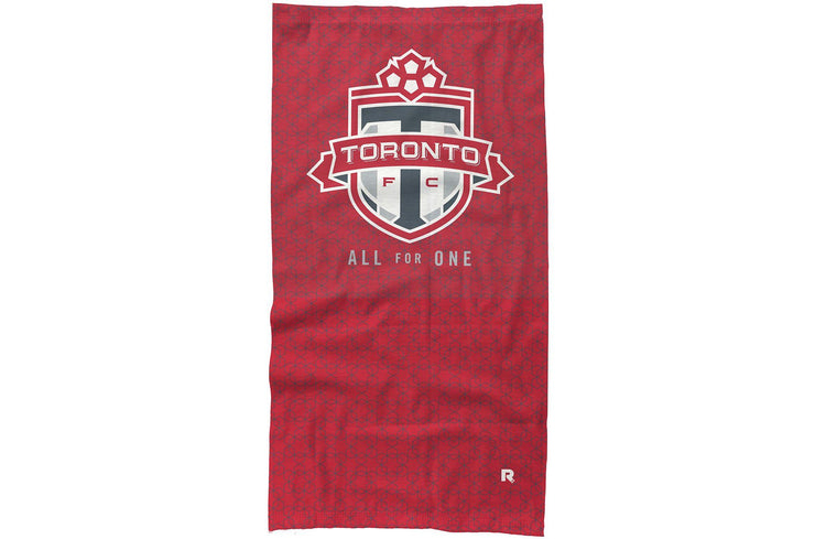 Toronto FC Neck Gaiter Hex Design