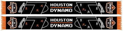 HOUSTON DYNAMO SCARF - 8-Bit Soccer