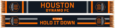 Houston Dynamo H-Town Black Summer scarf