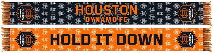 Houston Dynamo repeating logo summer scarf
