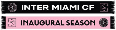 INTER MIAMI CF SCARF - 2020 Inaugural Season (HD Woven)