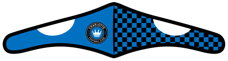 Charlotte FC face mask - checkered