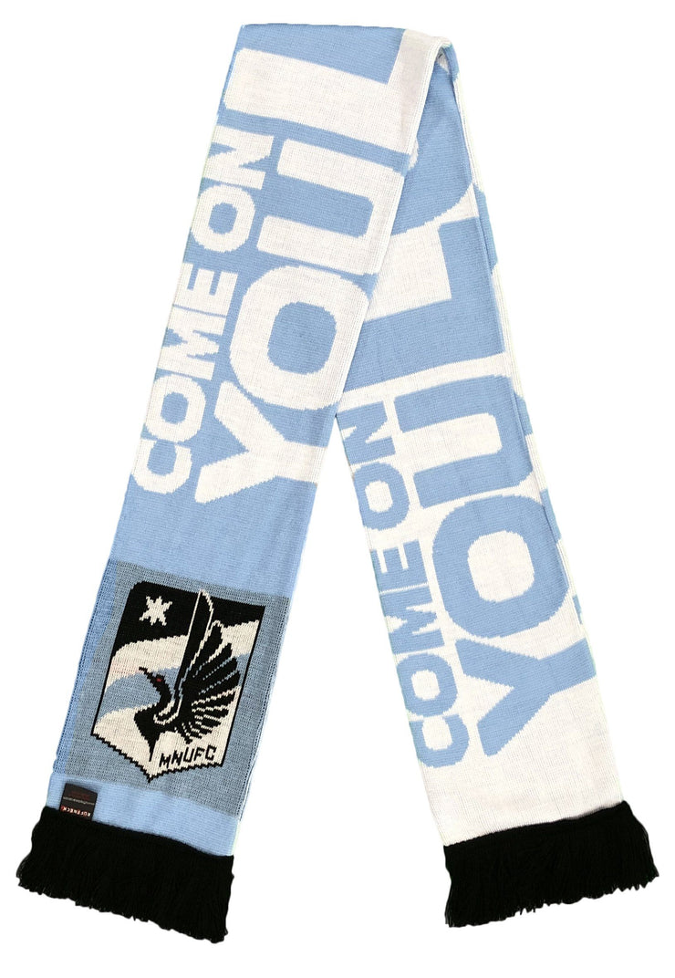 MINNESOTA UNITED FC SCARF - Come On You Loons