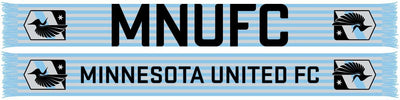 MINNESOTA UNITED SCARF - Stripes