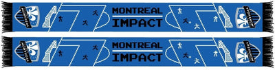 MONTREAL IMPACT SCARF - 8-Bit Soccer