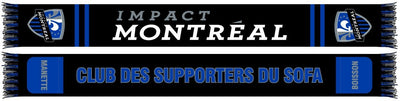 Montreal Impact pocket scarf