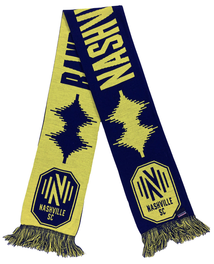 HD Knit Nashville SC Soundwave Scarf