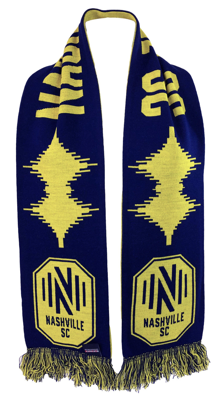 Draped Nashville SC Soundwave Scarf HD Knit