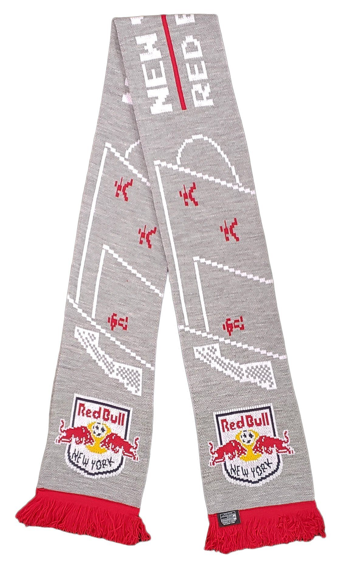 NEW YORK RED BULLS SCARF - 8-Bit Soccer