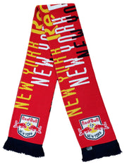 NEW YORK RED BULLS SCARF - 2020 Typeset