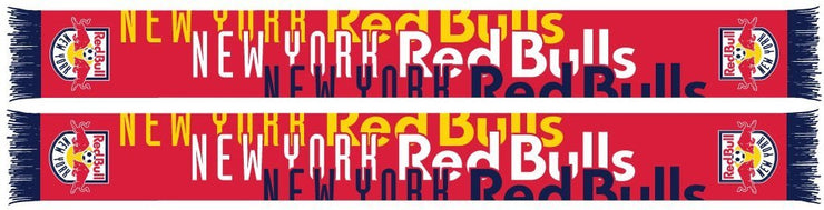 NEW YORK RED BULLS SCARF - Typeset