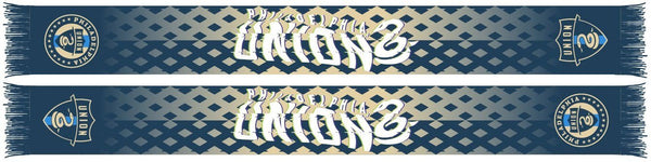 PHILADELPHIA UNION SCARF - Diamond (Summer Scarf)