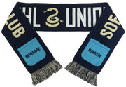 Philadelphia Union sofa supporters scarf folded