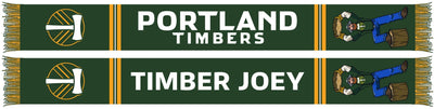 PORTLAND TIMBERS SCARF - 2020 Timber Joey Mascot (Summer Scarf) (Pre-Order)