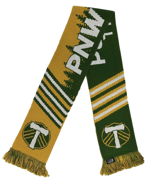 PORTLAND TIMBERS SCARF - PNW Raised