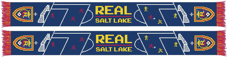 REAL SALT LAKE SCARF - 8-Bit Soccer