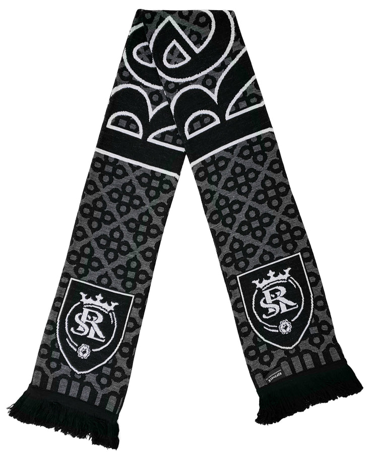 REAL SALT LAKE SCARF - 2020 Blackout (HD Knit)