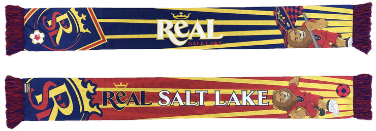 Real Salt Lake mascot scarf
