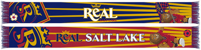 REAL SALT LAKE SCARF - Leo The Lion Mascot