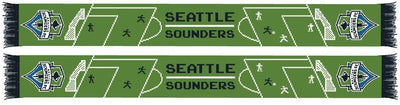 SEATTLE SOUNDERS SCARF - 8-Bit Soccer