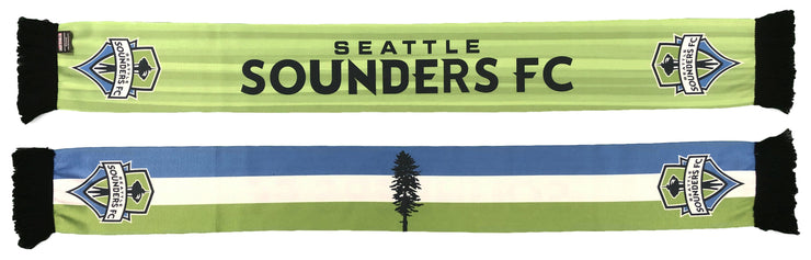 SEATTLE SOUNDERS SCARF - 2020 Cascadia Jersey (Summer Scarf)