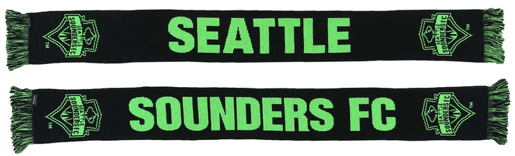 Seattle Sounders Pitch Black scarf