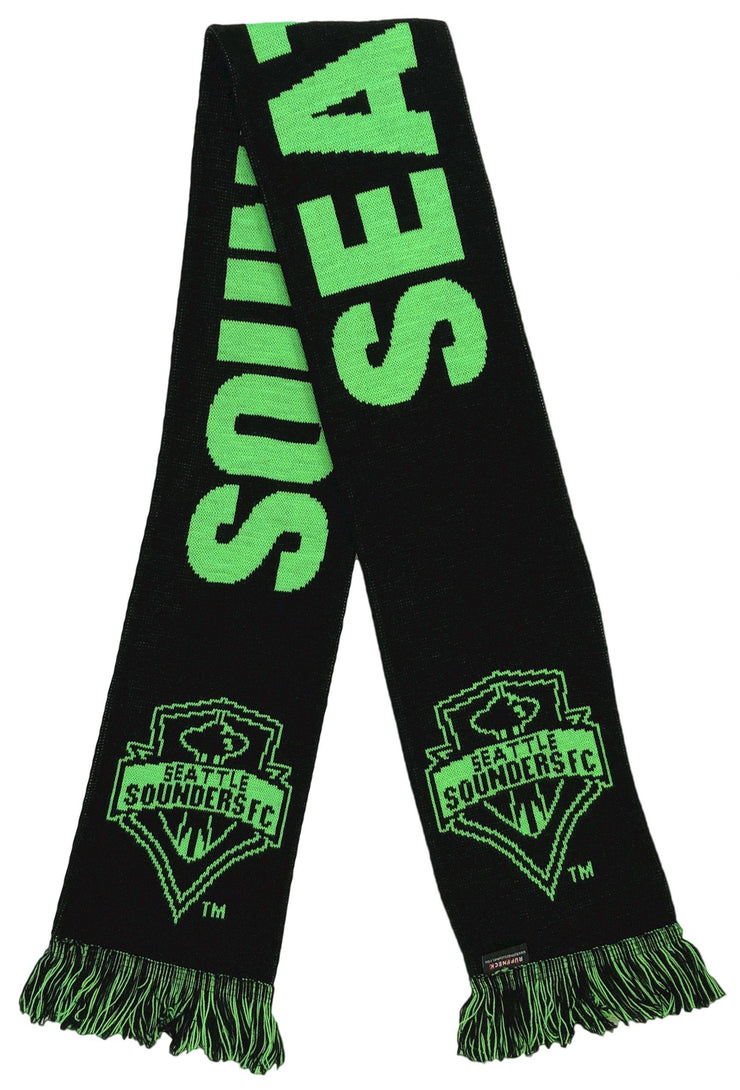Seattle Sounders Black Third Kit Scarf