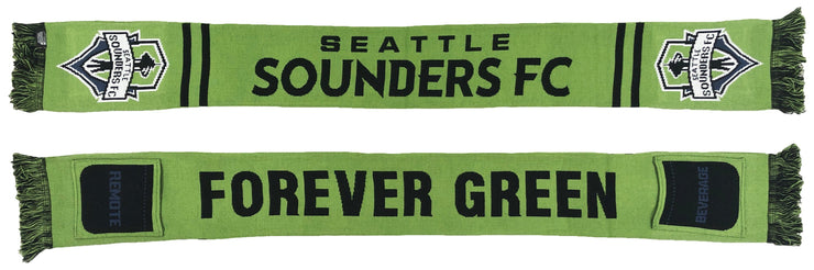 Seattle Sounders March to the couch pocket scarf