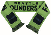 Seattle sounders pocket scarf sofa supporters