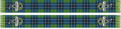 SEATTLE SOUNDERS SCARF - Tartan
