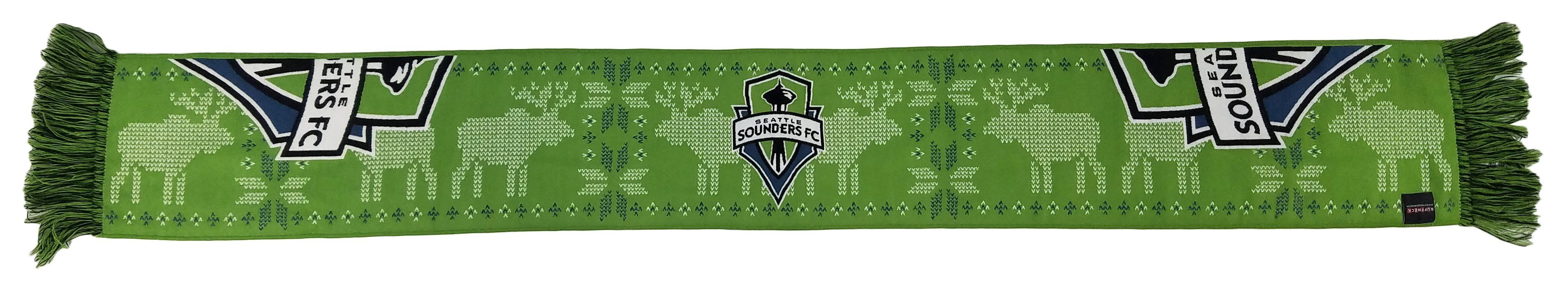 SEATTLE SOUNDERS SCARF - Ugly Sweater (HD Woven)