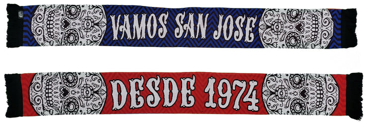 SAN JOSE EARTHQUAKES SCARF - 2020 Vamos San Jose (HD Knit)
