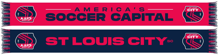 St Louis City America's Soccer Capital Scarf