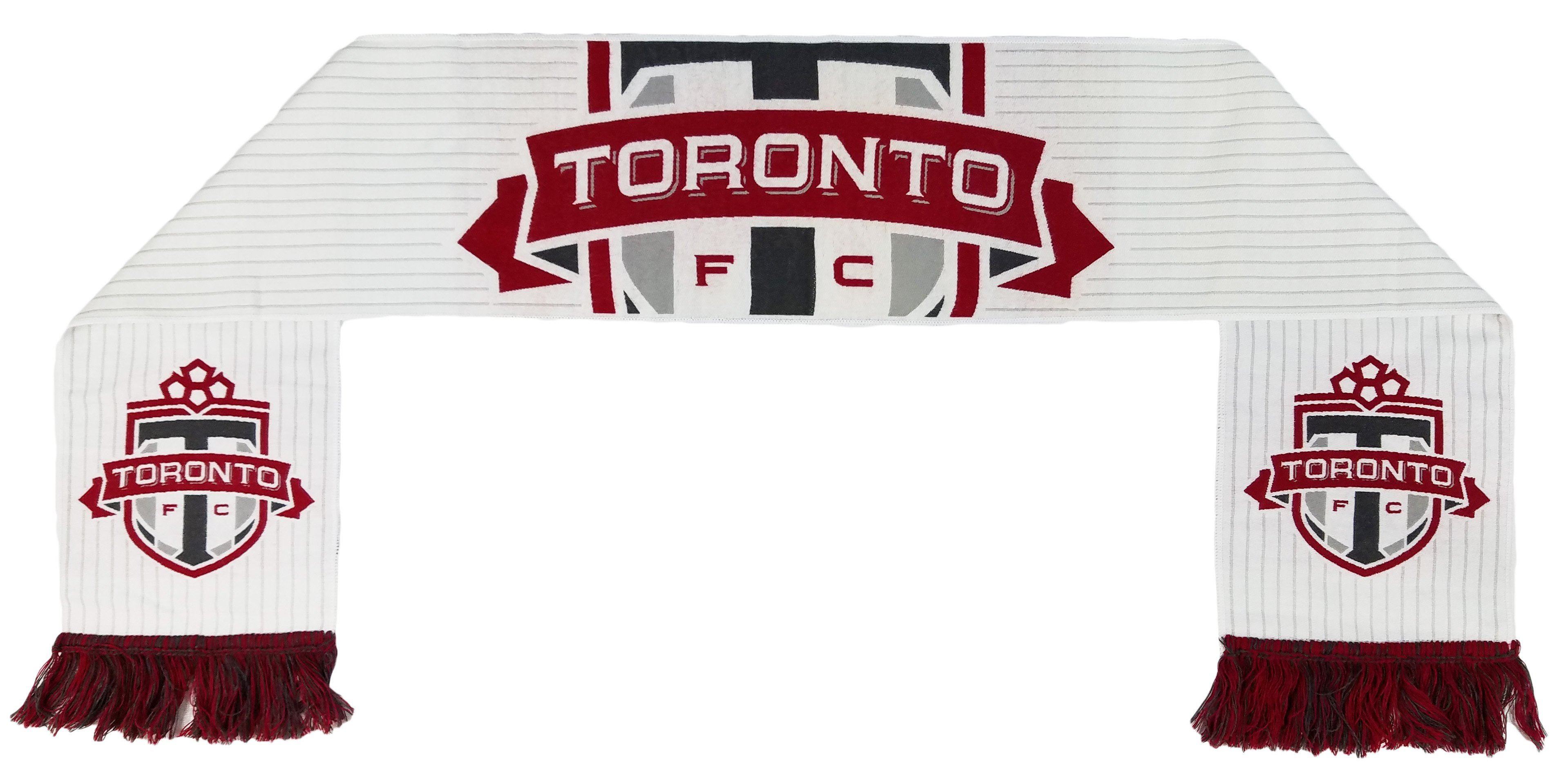 new product fd221 e7632 TORONTO FC SCARF - Away Kit (HD Woven) | Ruffneck Scarves