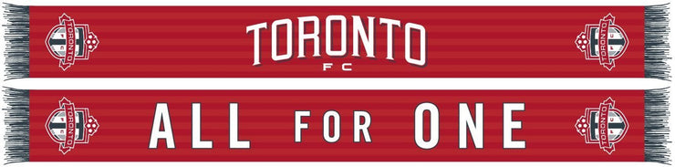 TORONTO FC SCARF - Home Kit (HD Woven)