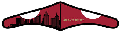 Velcro Wrap Face Mask - Triple Layered - Atlanta United Skyline (Pre-Order)