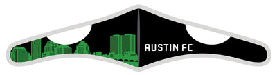 Velcro Wrap Face Mask - Triple Layered - Austin FC Skyline (Pre-Order)