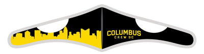 Velcro Wrap Face Mask - Triple Layered - Columbus Crew SC Skyline (Pre-Order)