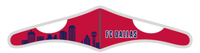 Velcro Wrap Face Mask - Triple Layered - FC Dallas Skyline