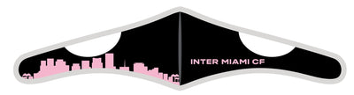 Velcro Wrap Face Mask - Triple Layered - Inter Miami CF Skyline (Pre-Order)