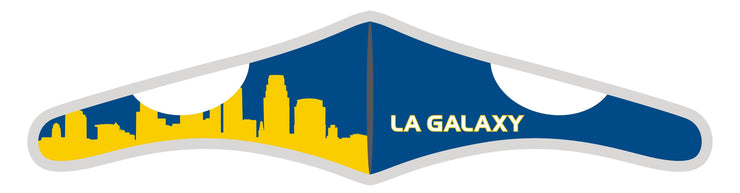 Velcro Wrap Face Mask - Triple Layered - LA Galaxy Skyline