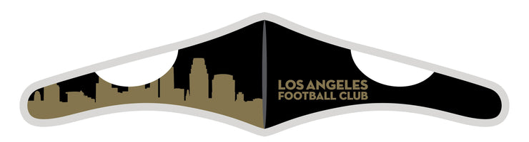 Velcro Wrap Face Mask - Triple Layered - LAFC Skyline
