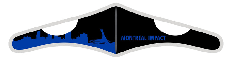 Velcro Wrap Face Mask - Triple Layered - Montreal Impact Skyline