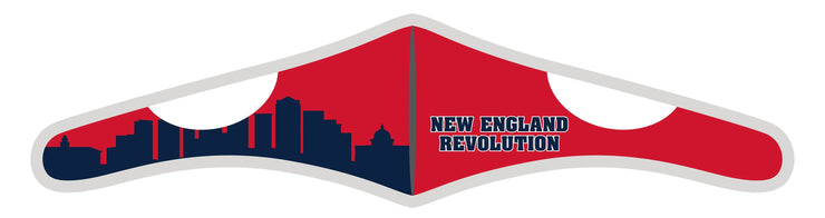 Velcro Wrap Face Mask - Triple Layered - New England Revolution Skyline
