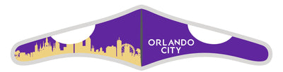 Velcro Wrap Face Mask - Triple Layered - Orlando City Skyline (Pre-Order)