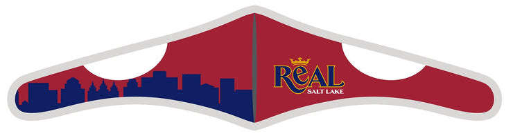 Velcro Wrap Face Mask - Triple Layered - Real Salt Lake Skyline