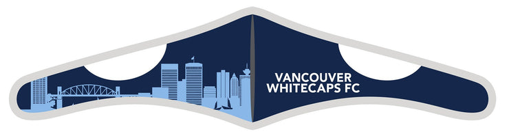 Velcro Wrap Face Mask - Triple Layered - Vancouver Whitecaps Skyline