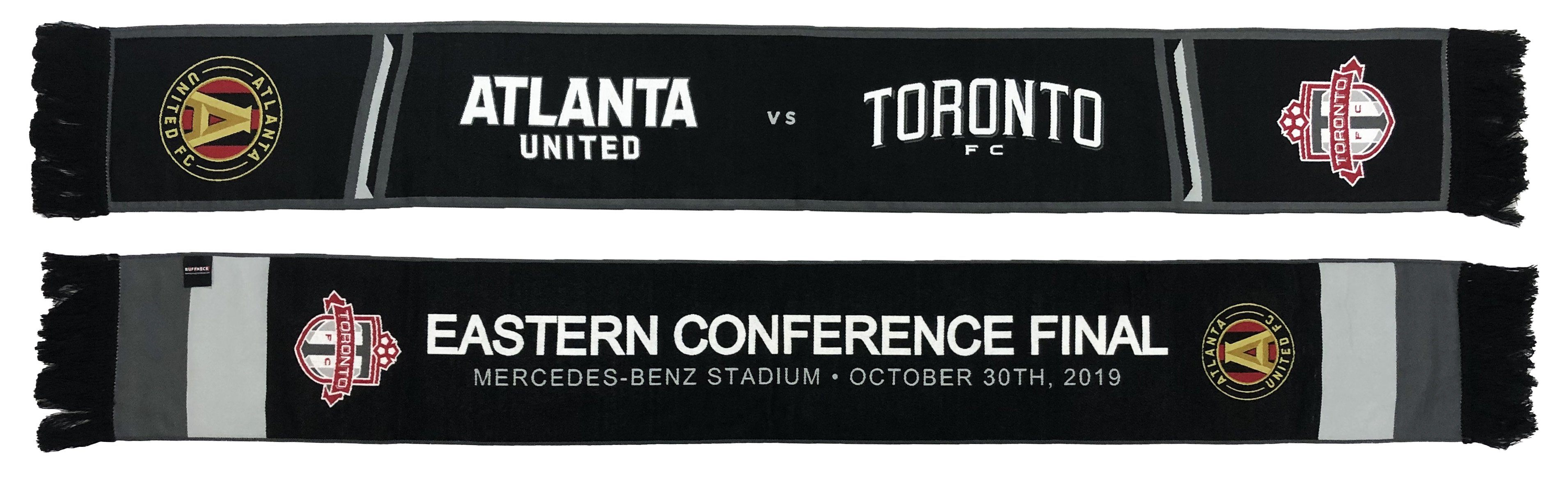 ATLANTA UNITED vs TORONTO FC - 2019 Eastern Conference Matchup Scarf (HD Woven)