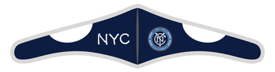 Velcro Wrap Face Mask - Triple Layered - NYCFC City Text