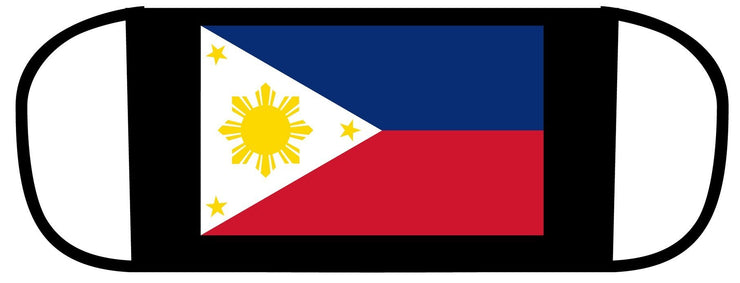 Flag of the Philippines polyester face mask..